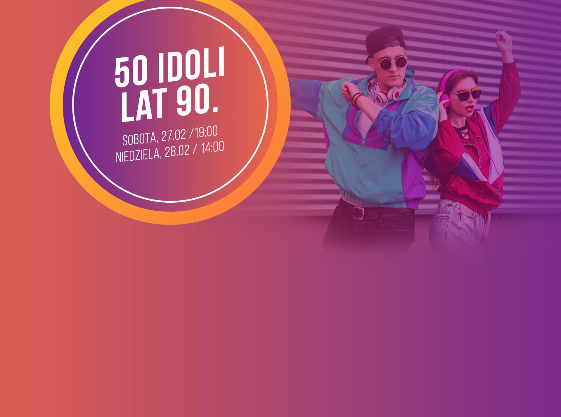50 idoli lat 90